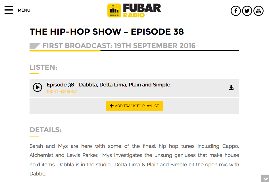 delta radio playlist