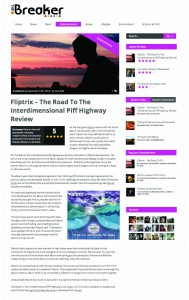 Fliptrix - The Road To The Interdimensional Piff Highway - The Breaker Review