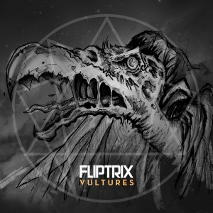 Fliptrix - Vultures Single cover