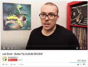 Lee Scott - Butter Fly - Theneedledrop Review by Anthony Fantano