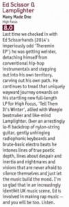Ed Scissor + Lamplighter - DJ Mag review